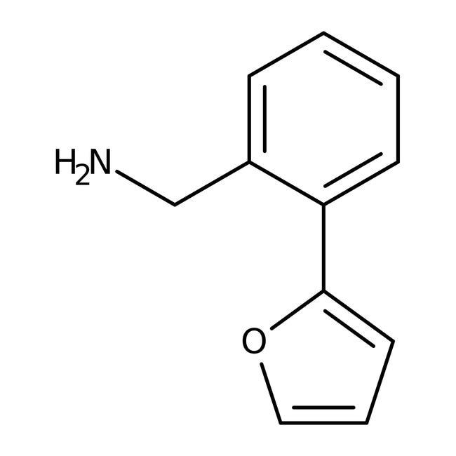 [2-(2-Furyl)phenyl]methylamine, ≥97%, Maybridge™ 250mg; Amber Glass Bottle [2-(2-Furyl)phenyl]methylamine, ≥97%, Maybridge™