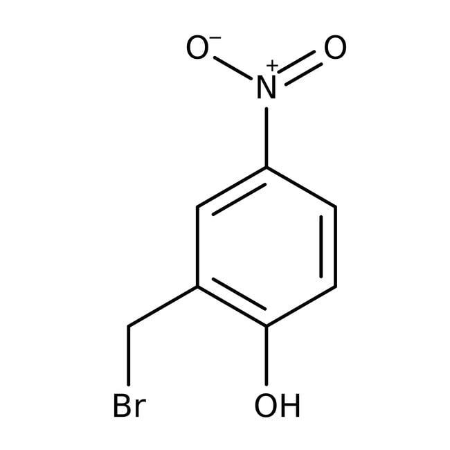alpha-Bromo-4-nitro-o-cresol, 95%, ACROS Organics™: Benzyl halides Benzene and substituted derivatives