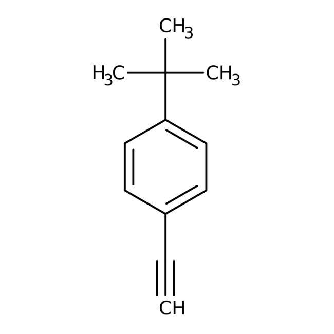 4-tert-Butylphenylacetylene, 96%, ACROS Organics