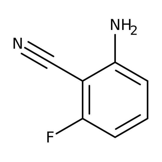 Alfa Aesar™2-Amino-6-fluorobenzonitrile, 99% 5g Alfa Aesar™2-Amino-6-fluorobenzonitrile, 99%
