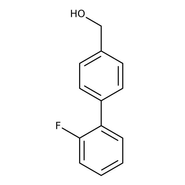 Alfa Aesar™2'-Fluoro-4-biphenylmethanol, 97% 1g Alfa Aesar™2'-Fluoro-4-biphenylmethanol, 97%