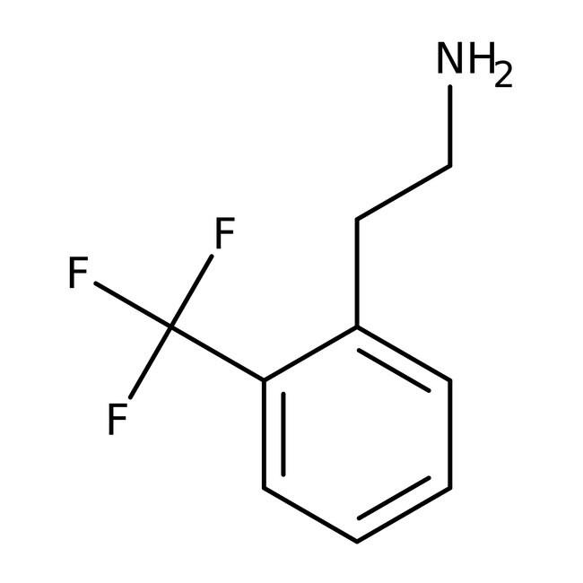 2-[2-(Trifluoromethyl)phenyl]ethylamine, 95%, Alfa Aesar™ 1g 2-[2-(Trifluoromethyl)phenyl]ethylamine, 95%, Alfa Aesar™
