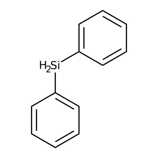 Diphenylsilane, 97%, ACROS Organics™ 25g; Glass bottle Diphenylsilane, 97%, ACROS Organics™