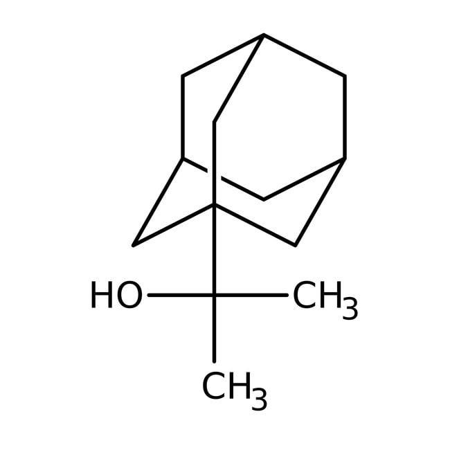 2-(1-Adamantyl)propan-2-ol, 97%, Maybridge™ Amber Glass Bottle; 1g 2-(1-Adamantyl)propan-2-ol, 97%, Maybridge™