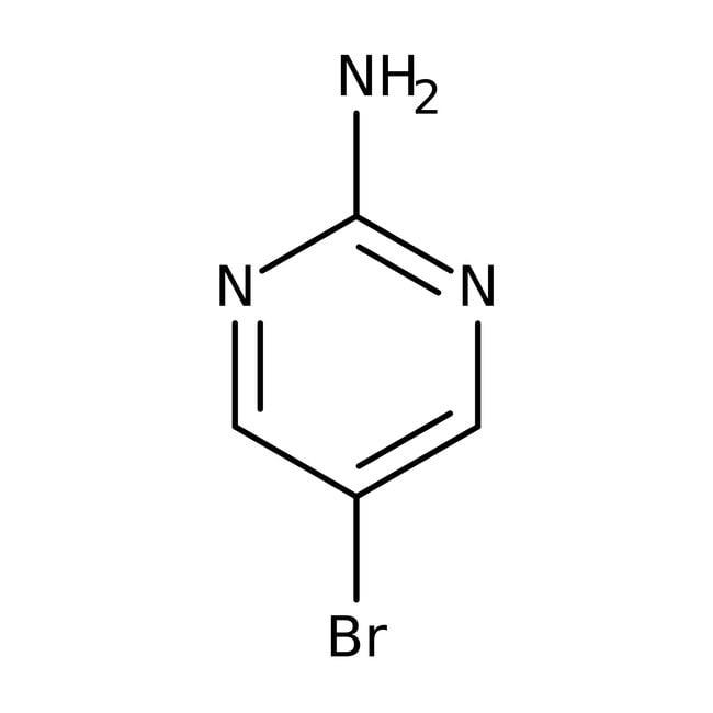 2-Amino-5-bromopyrimidine, 97%, ACROS Organics™