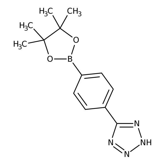 Alfa Aesar™4-(2H-Tetrazol-5-yl)benzeneboronic acid pinacol ester, 95%