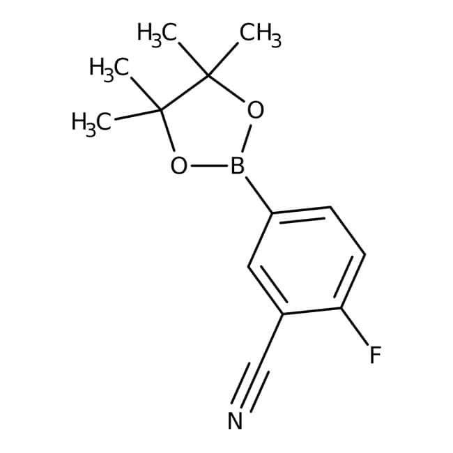 3-Cyano-4-fluorophenylboronic acid pinacol ester, 97%, ACROS Organics™