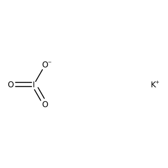 Potassium iodate, 99.5%, for analysis, ACROS Organics