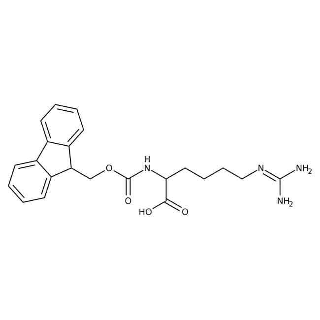 Alfa Aesar™N-Fmoc-L-homoarginine, 96% 250mg Alfa Aesar™N-Fmoc-L-homoarginine, 96%