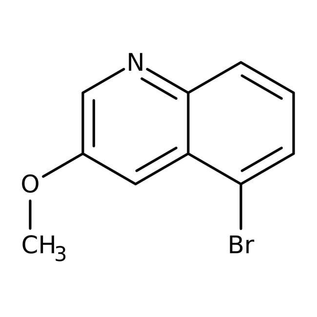 Alfa Aesar™5-Bromo-3-methoxyquinoline, 96% 5g Alfa Aesar™5-Bromo-3-methoxyquinoline, 96%