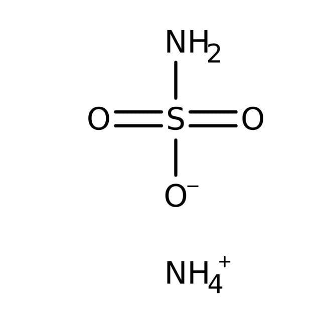 Ammonium sulfamate, ACS reagent, Acros Organics 100g; Plastic bottle Ammonium sulfamate, ACS reagent, Acros Organics