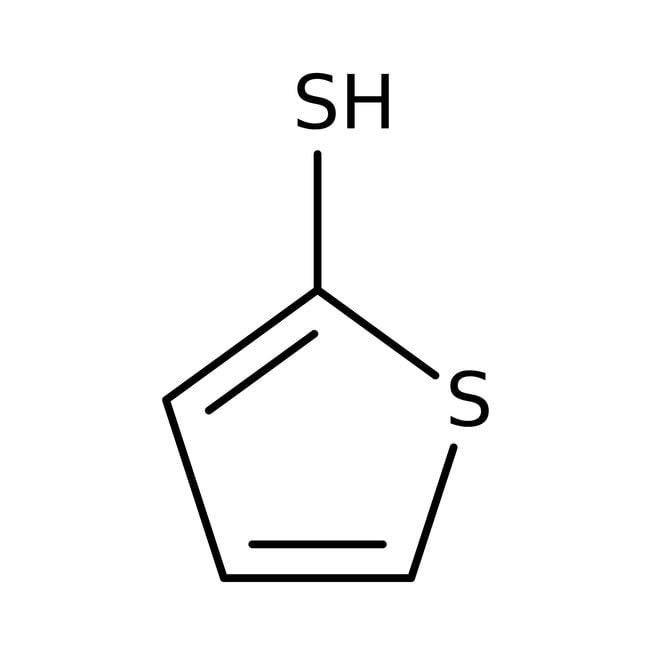 Alfa Aesar  Thiophene-2-thiol, contains dimer, 97% as monomer
