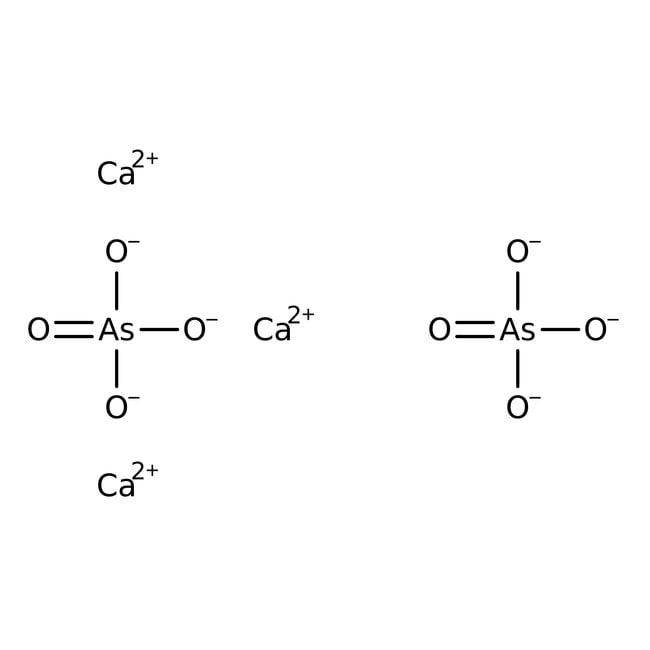 Kalziumarsenat, weißes Pulver, 95%, Alfa Aesar™ 50g; VerpackungsgruppeII Kalziumarsenat, weißes Pulver, 95%, Alfa Aesar™