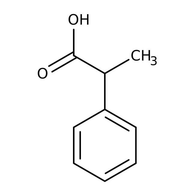 (S)-(+)-2-Phenylpropionic acid, 99%, ACROS Organics™