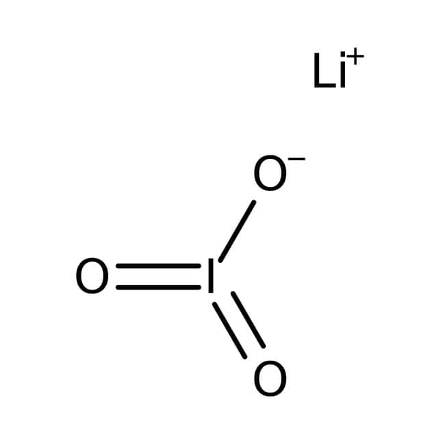 Iodic acid, 99.5%, for analysis, ACROS Organics