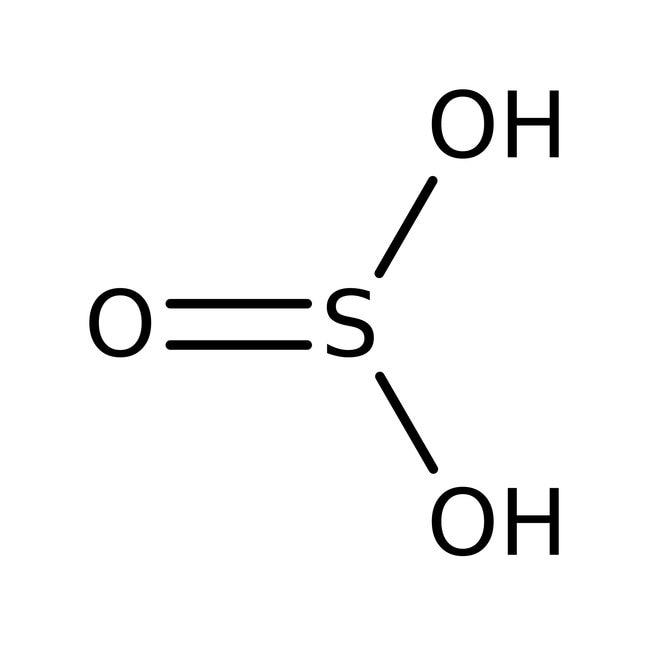 Schwefelsäure, ACS, 6.0% SO2 min., Alfa Aesar: Inorganic Acids Säuren