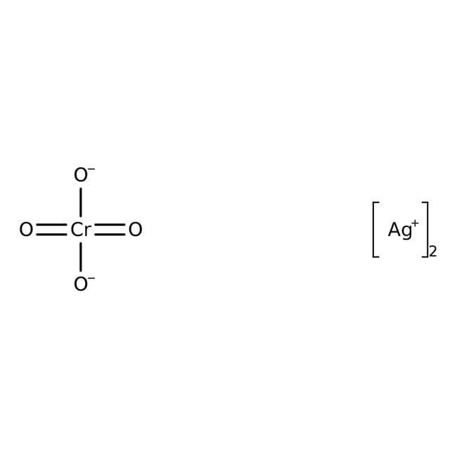 Alfa Aesar™Silver(I) chromate, 99.9% (metals basis) 25g Alfa Aesar™Silver(I) chromate, 99.9% (metals basis)