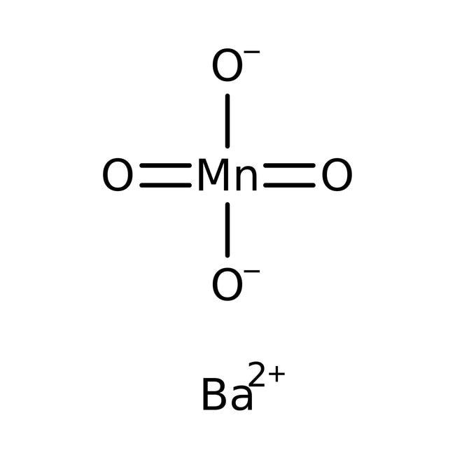 Bariummanganat(VI), 95%, ACROS Organics™ 100 g-Glasflasche Bariummanganat(VI), 95%, ACROS Organics™