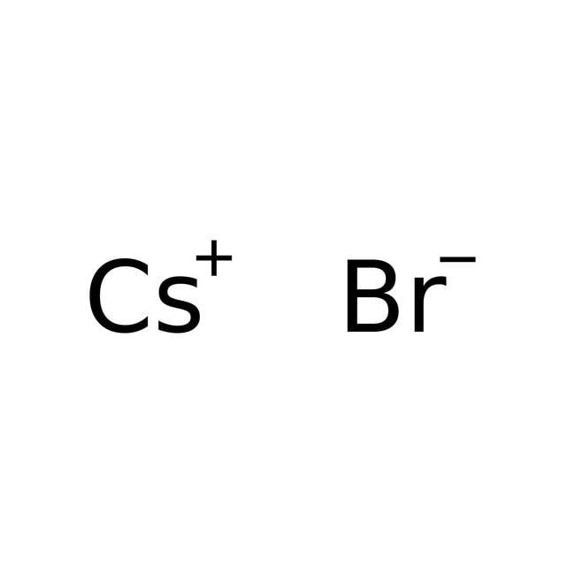 Cesium bromide, 99.9%, pure, ACROS Organics