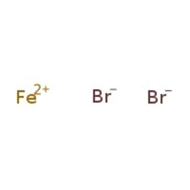 Iron(II) bromide, anhydrous, 98% min, Alfa Aesar™ 5g Iron(II) bromide, anhydrous, 98% min, Alfa Aesar™