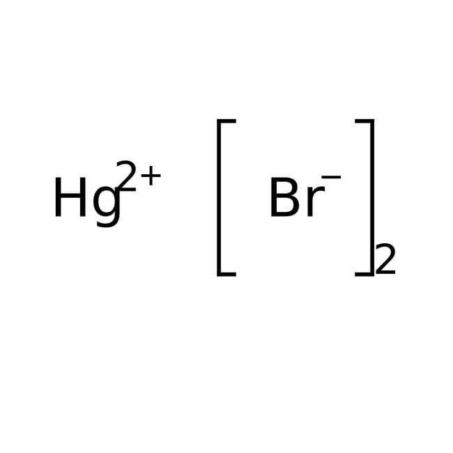 Mercury(II) bromide, 99+%, ACROS Organics