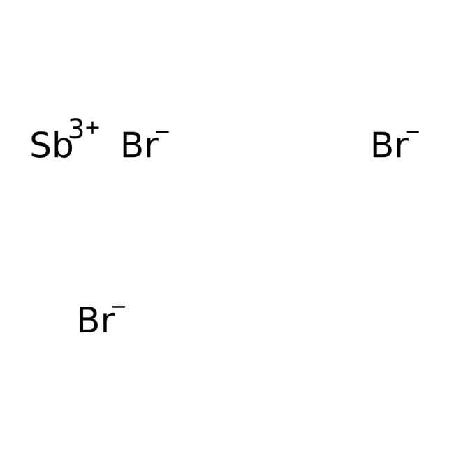 Antimony(III) bromide, 99%, Alfa Aesar™ 50g Antimony(III) bromide, 99%, Alfa Aesar™