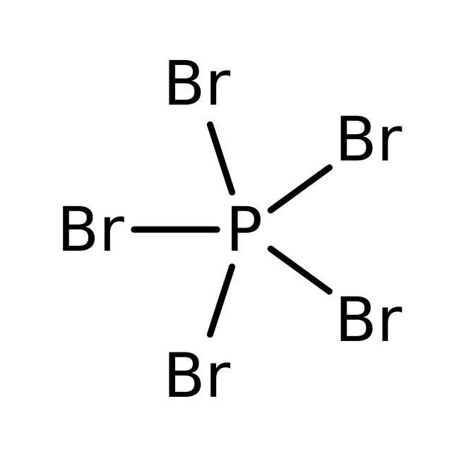 Phosphorus pentabromide, 95%, ACROS Organics™ 25g; Glass bottle Phosphorus pentabromide, 95%, ACROS Organics™