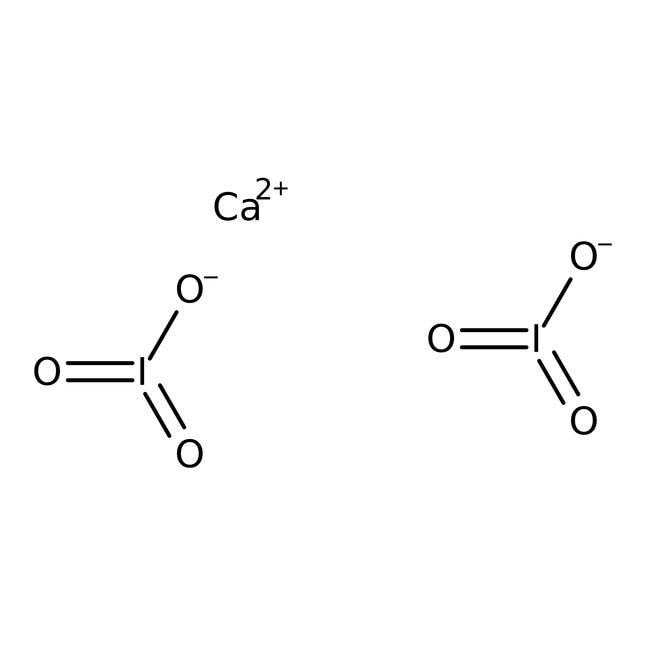 Calcium iodate, pure, ACROS Organics™ 2.5kg Calcium iodate, pure, ACROS Organics™