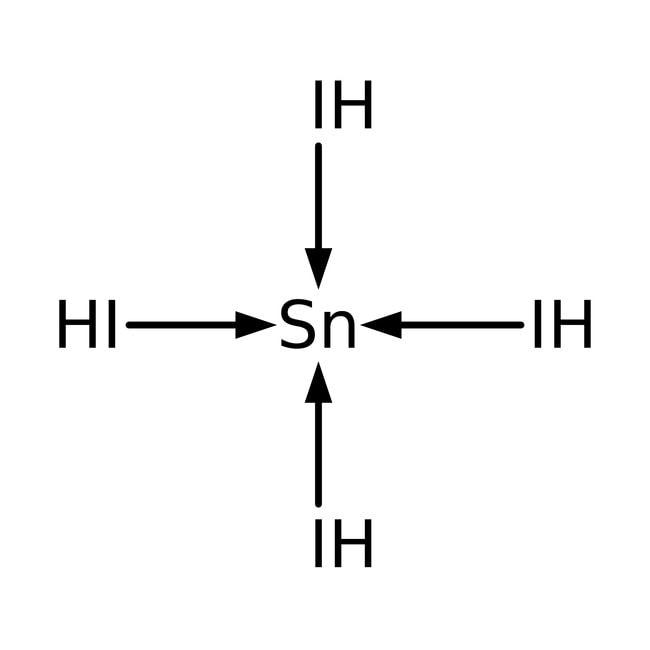 Tin(IV) iodide, 99+%, -10 mesh, ACROS Organics