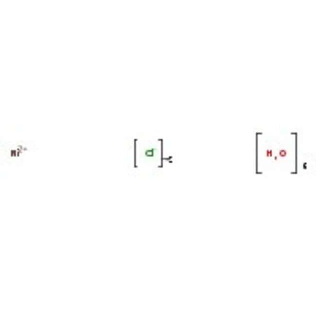 Nickelchlorid, 6-Hydrat, Kristall, BAKER ANALYZED™ Reagenz, J.T.Baker™ 500 g-Poly-Flasche Nickelchlorid, 6-Hydrat, Kristall, BAKER ANALYZED™ Reagenz, J.T.Baker™