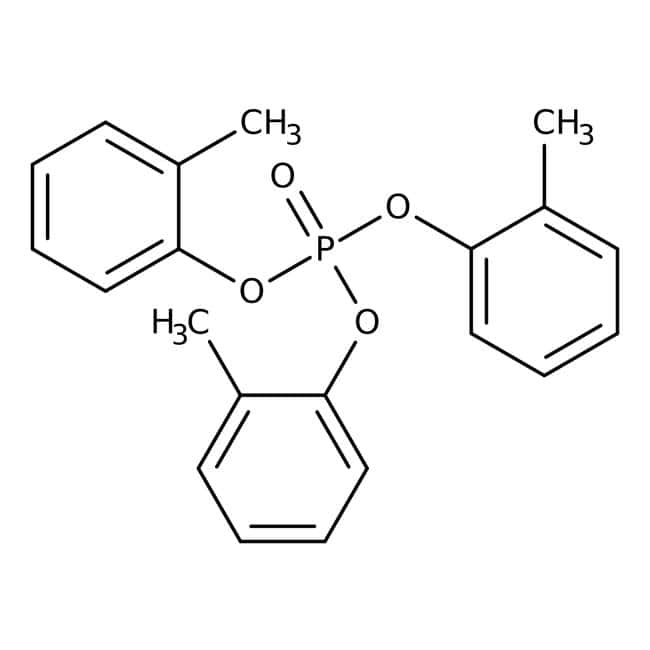 Phosphate de tri-o-tolyle, 96%, ACROSOrganics™ 25g; flacon en verre Phosphate de tri-o-tolyle, 96%, ACROSOrganics™