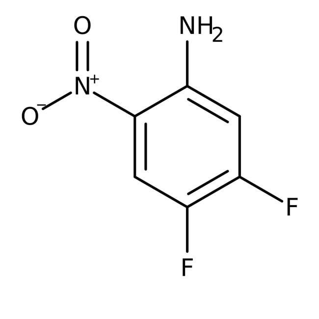Alfa Aesar™4,5-Difluoro-2-nitroaniline, 98%