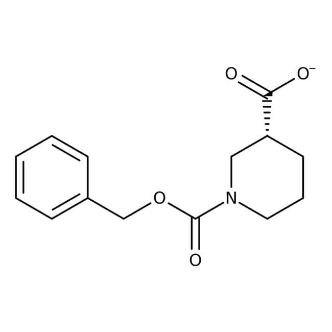 1-[(Benzyloxy)carbonyl]-3-piperidinecarboxylic acid, 97%, Maybridge™
