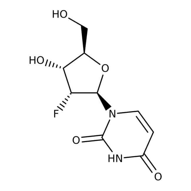 2'-Fluoro-2'-deoxyuridine, 97%, Acros Organics 1g 2'-Fluoro-2'-deoxyuridine, 97%, Acros Organics