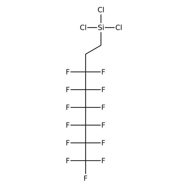 Trichloro(1H,1H,2H,2H-tridecafluoro-n-octyl)silane 97.0 %, TCI America