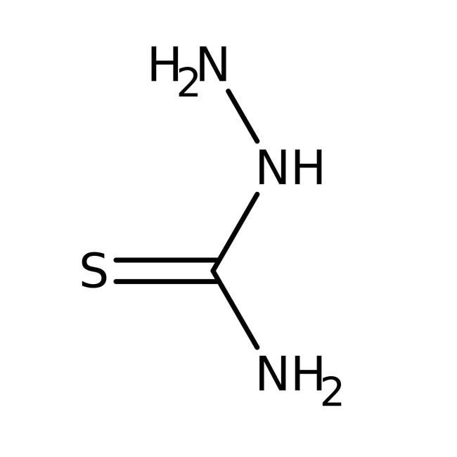 Alfa Aesar™Thiosemicarbazide, 99%: Hydrazines and derivatives Organonitrogen compounds