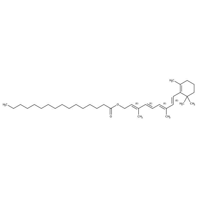Vitamin A Palmitate, 1.70 MIU/g, USP, 1.62 MIU/g, Spectrum