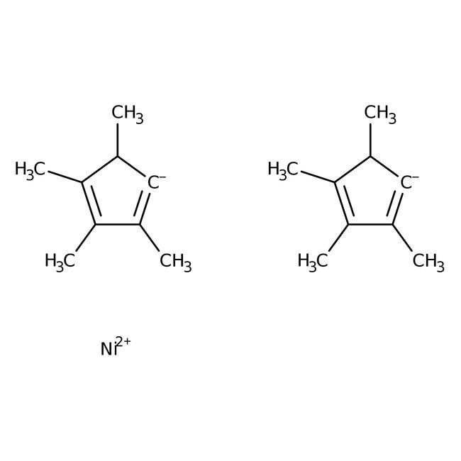 Alfa Aesar™Bis(tetramethylcyclopentadienyl)nickel(II), 98+% 5g Alfa Aesar™Bis(tetramethylcyclopentadienyl)nickel(II), 98+%