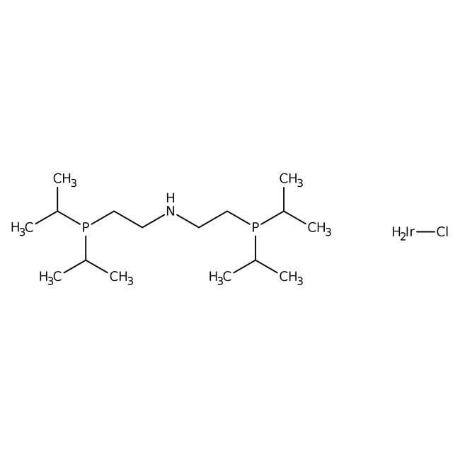 chlorodihydrido[bis[(2-diisopropylphosphino)ethyl]amine]iridium, 97%, ACROS Organics™