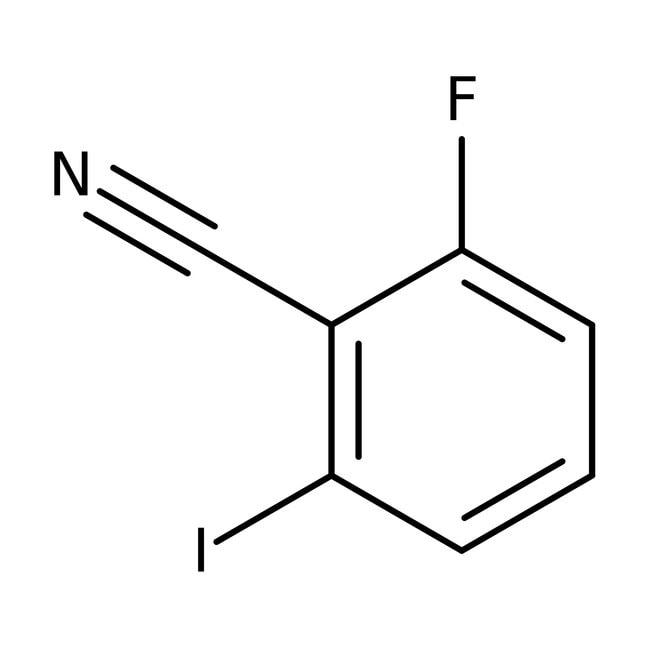 Alfa Aesar™2-Fluoro-6-yodobenzonitrilo, 98% 5g Alfa Aesar™2-Fluoro-6-yodobenzonitrilo, 98%