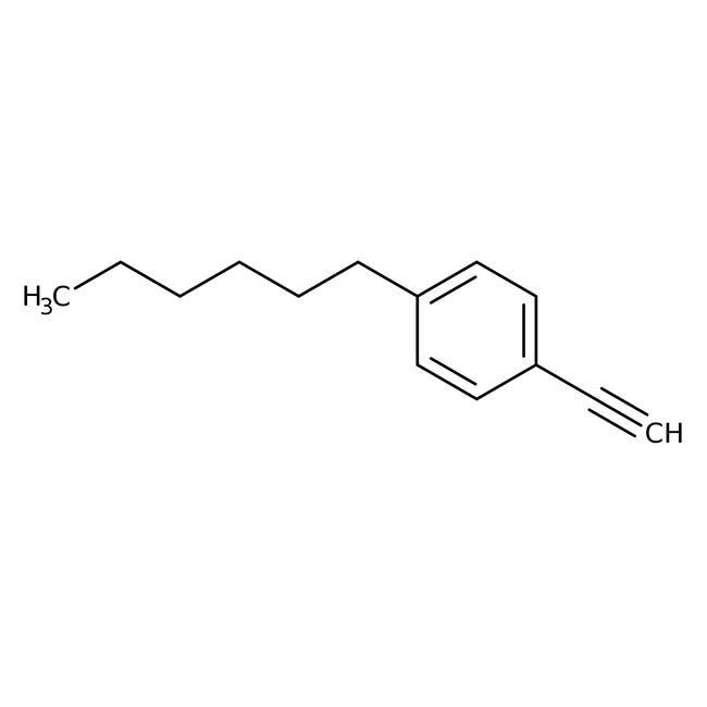 1-Eth-1-ynyl-4-hexylbenzene, 97%, Maybridge