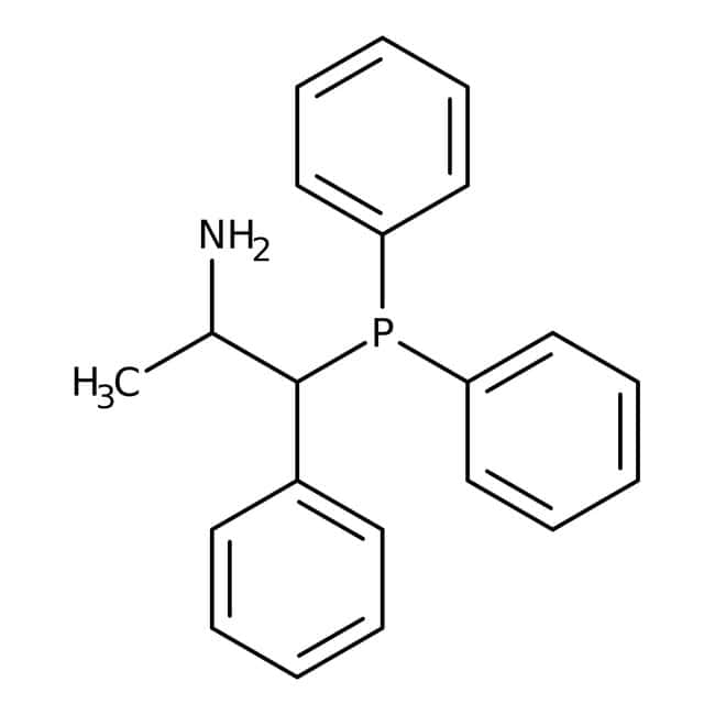 Alfa Aesar™(R,R)-(-)-2-Amino-1-phenylpropyldiphenylphosphine, 97+% 250mg Alfa Aesar™(R,R)-(-)-2-Amino-1-phenylpropyldiphenylphosphine, 97+%