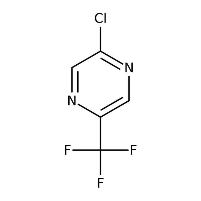 2-Chloro-5-(trifluoromethyl)pyrazine, 97%, ACROS Organics™ 1g 2-Chloro-5-(trifluoromethyl)pyrazine, 97%, ACROS Organics™