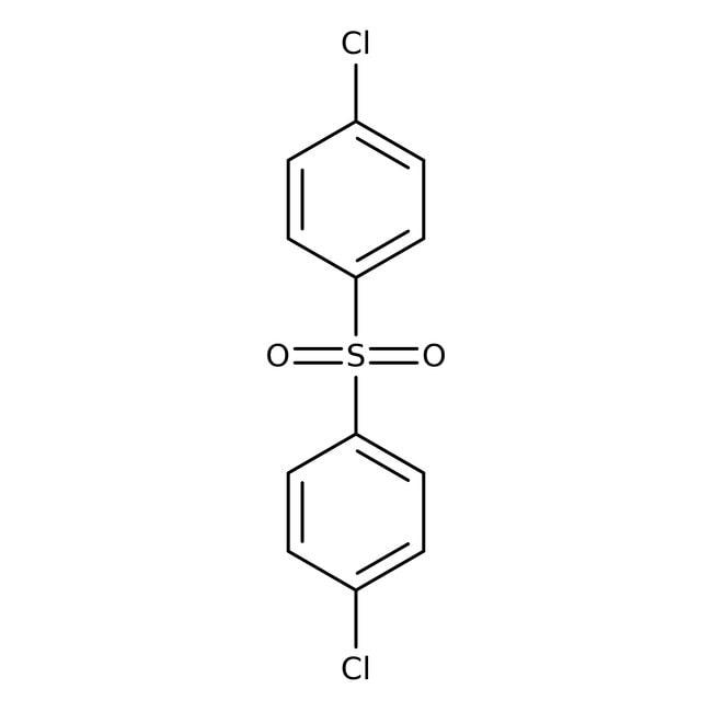 4,4'-Dichlorodiphenyl sulfone, 97%, ACROS Organics™ 250g; Plastic bottle 4,4'-Dichlorodiphenyl sulfone, 97%, ACROS Organics™