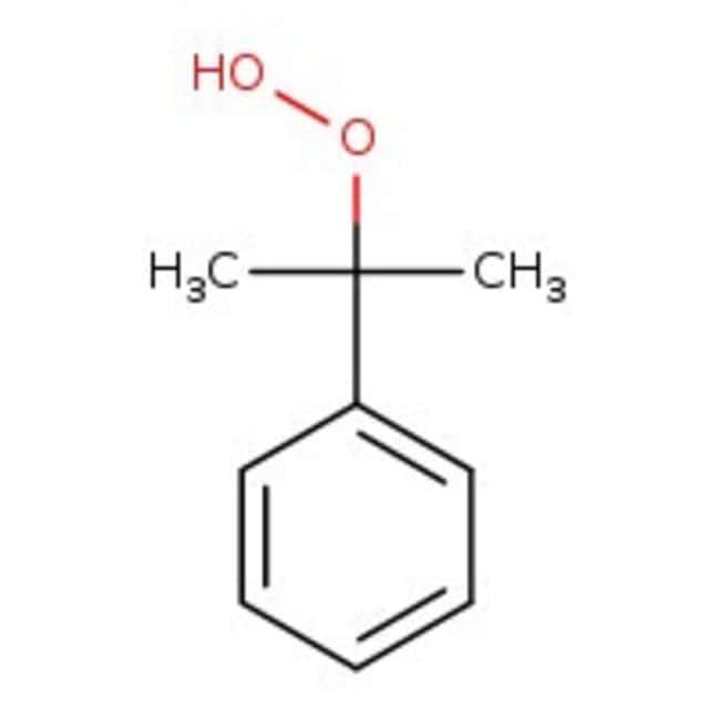 Cumyl hydroperoxide, 80%, ACROS Organics™ 1kg Cumyl hydroperoxide, 80%, ACROS Organics™