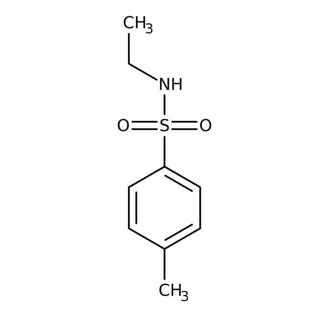 Alfa Aesar™N-Ethyl-4-methylbenzenesulfonamide, 98% 500g Alfa Aesar™N-Ethyl-4-methylbenzenesulfonamide, 98%