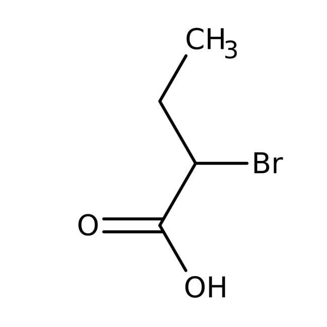 2-Bromobutyric acid, 99%, ACROS Organics™