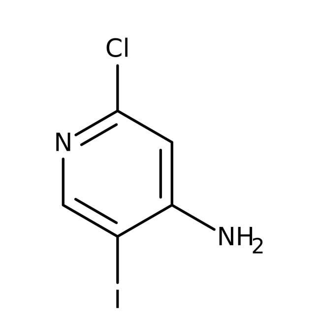 Alfa Aesar™4-Amino-2-chloro-5-iodopyridine, 95% 250mg Alfa Aesar™4-Amino-2-chloro-5-iodopyridine, 95%