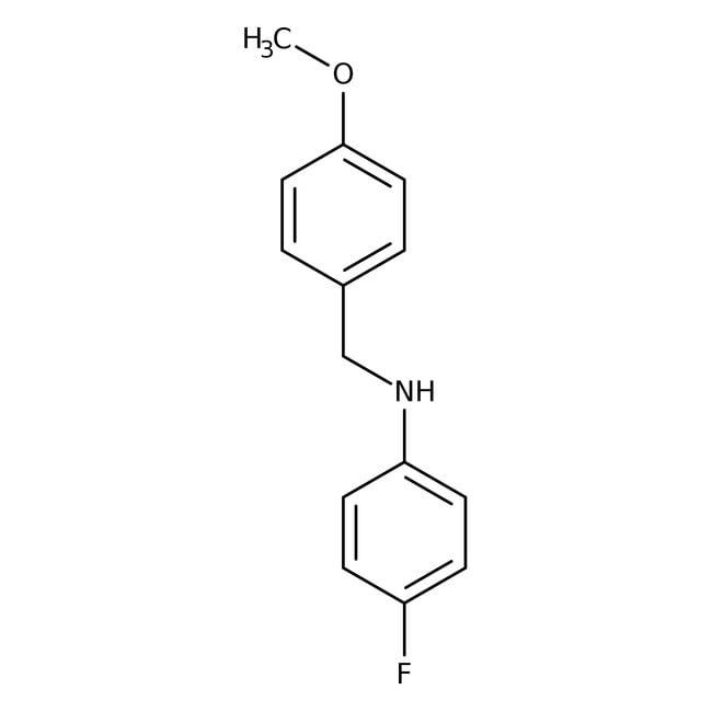Alfa Aesar™4-Fluoro-N-(4-methoxybenzyl)aniline, 97%