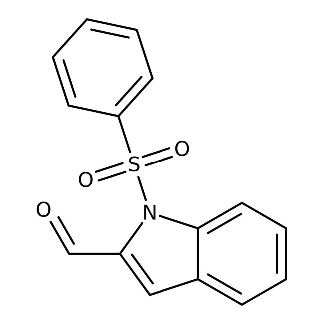 1-(Phenylsulfonyl)-1H-indole-2-carbaldehyde, 97%, Maybridge™
